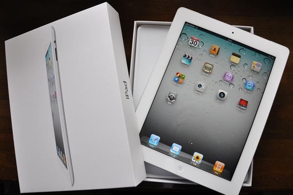 仲間に加わった iPad 2