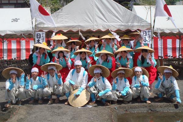 今年のお田植え大祭参加メンバー